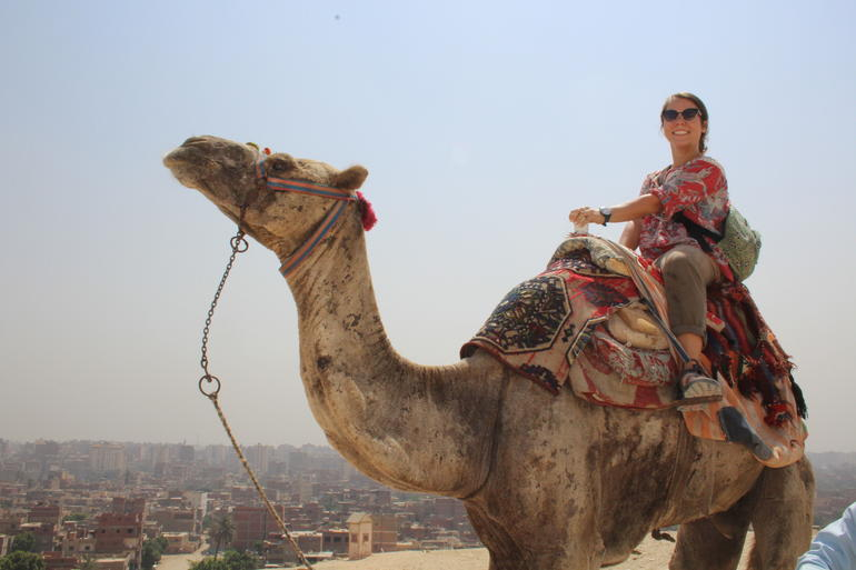 Sightseeing Day Tour to Pyramids, Egyptian Museum and Bazaar from Giza or Cairo photo 38
