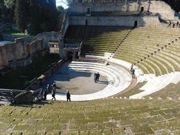 The arena in Pompeii , Denise L - February 2018