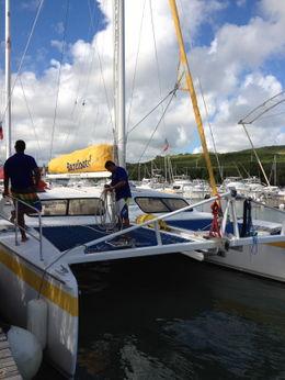 Catamaran crew , Michelle H - December 2011