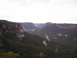 A view of the Blue Mountains., Christine C - July 2008