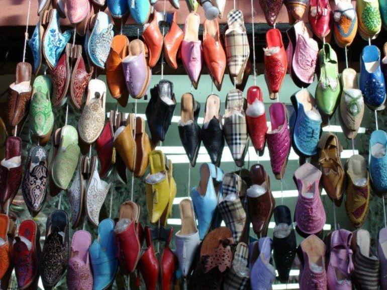 Browsing the souks in Marrakech - Marrakech