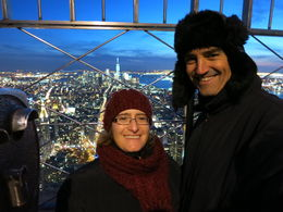 Bruno and I on top of ESB, Patricia P - July 2015