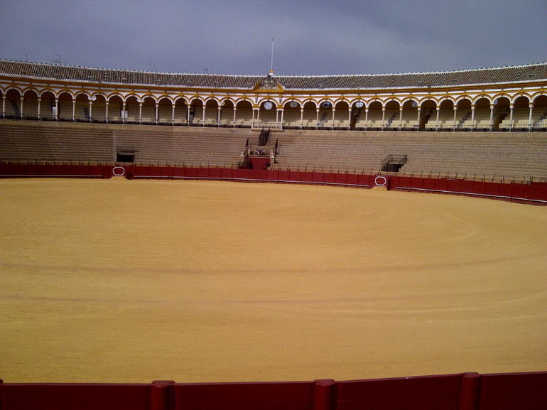 bull fighting ring - Seville