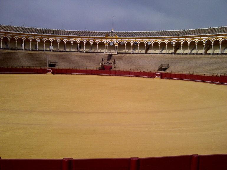 bull fighting ring - Seville