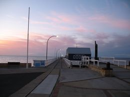 Another photo of Busselton Jetty at sunset. - September 2008