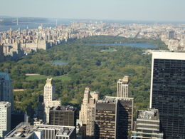 View of Central Park from and quot;Top of the Rock and quot; - great view, better than Empire State in my opinion. , Susan V A - October 2012