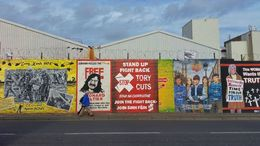 peace wall murals belfast, Sherry O - March 2015