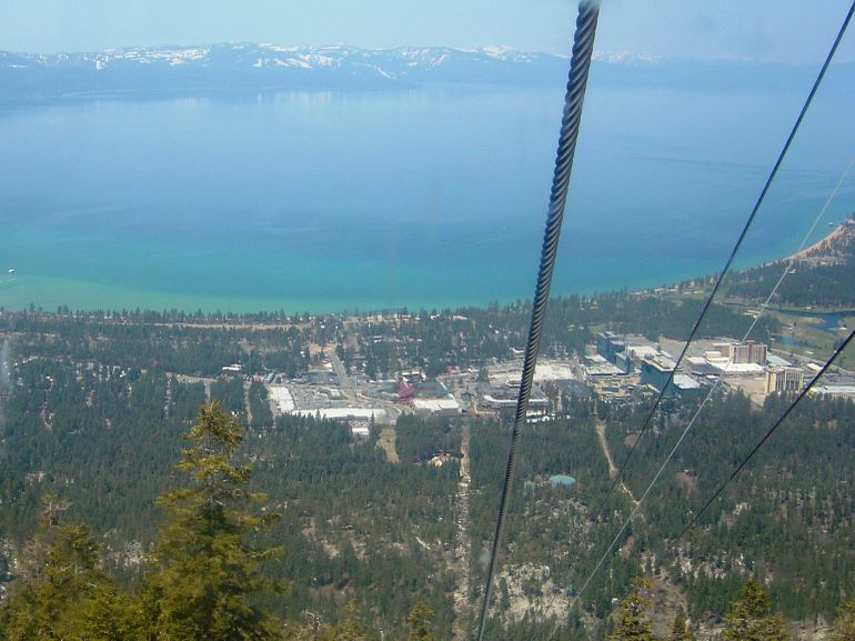 Gondola at Heavenly - Lake Tahoe