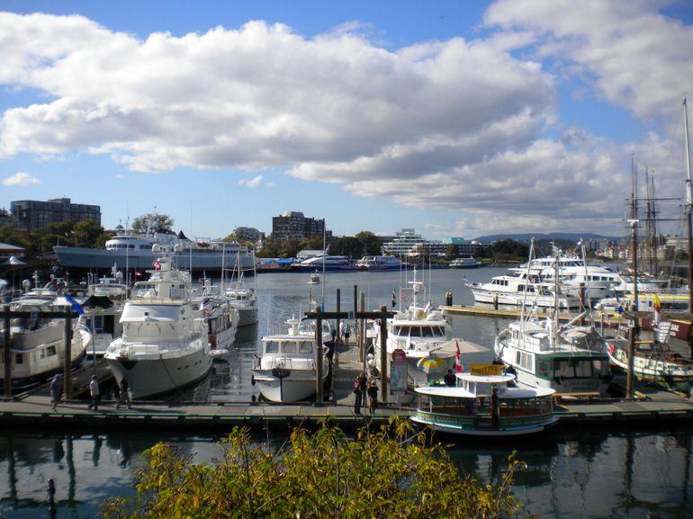 Harbor in Victoria - Vancouver
