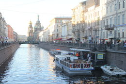 One of the canals in St Petersburg, HTravelerUK - July 2013