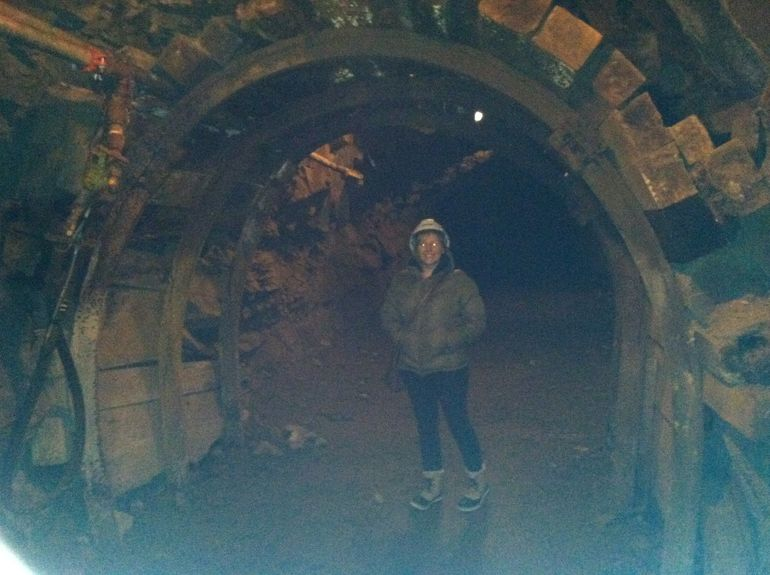 In the mine - Squamish