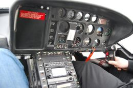 Inside our helicopter., Stephan N - February 2008