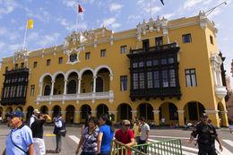 Lima City Tour - Plaza de Armas, Municipal Palace City Hall. , Chefman - June 2015
