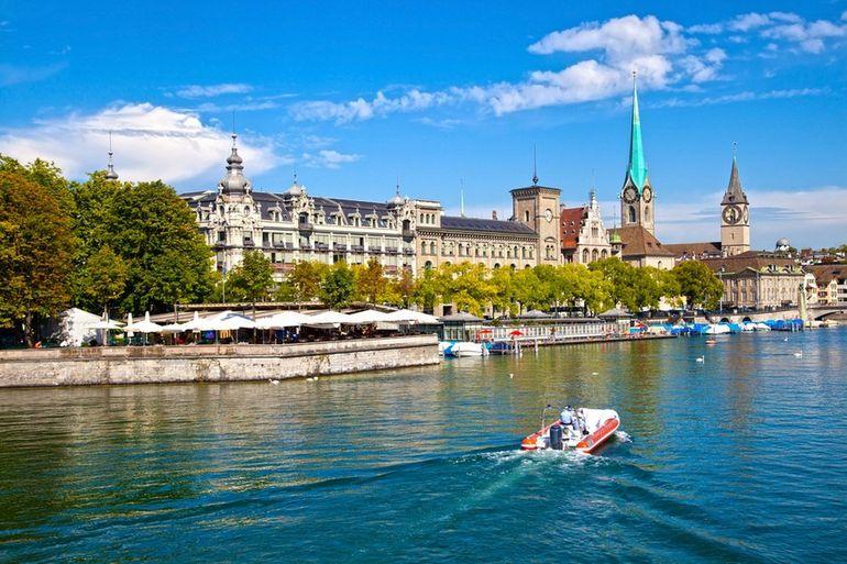 Limmat river - Zurich