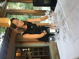 our wine hostess Mollie... , Jens A - July 2016