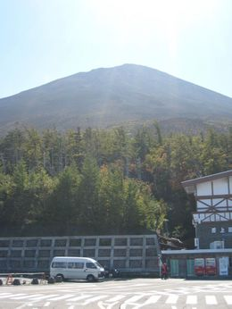 View of Mt Fuji. - October 2007