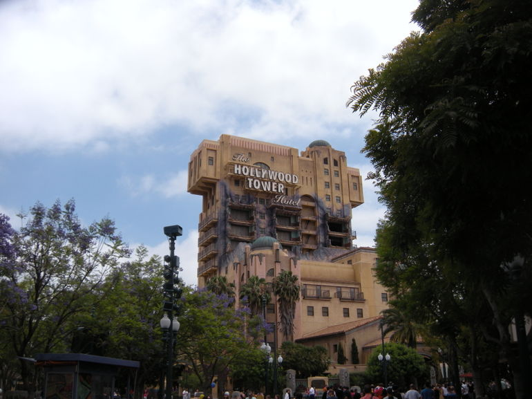My favorite - Hollywood Tower of Terror - Los Angeles
