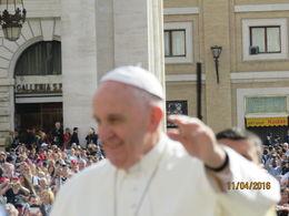 The Pope , Elaine B - April 2016