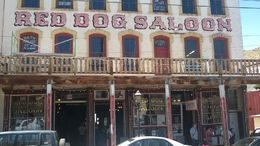 Red Dog Saloon--one of the many saloons to visit in Virginia City, NV. , brett t - June 2015