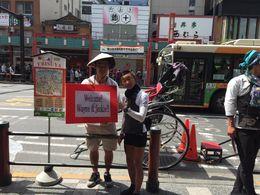 Tokyo Asakusa Rickshaw Tour, Wayne F - May 2016