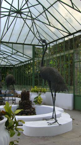 Sculpture in Greenhouse , Saké - September 2011