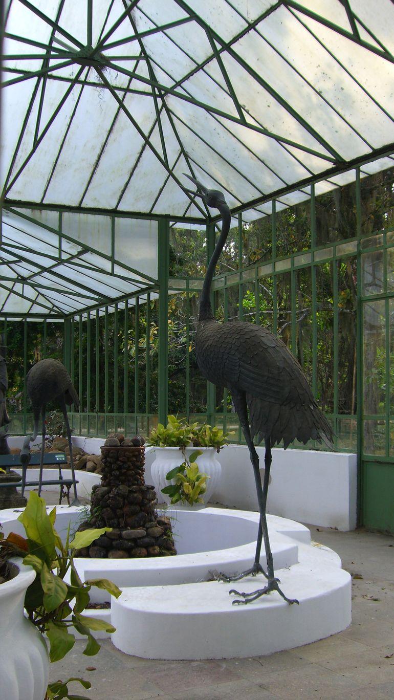 Sculpture in Greenhouse - Rio de Janeiro