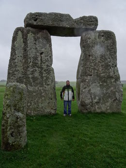David in the middle of Stonehenge :) , Sylvia L - April 2014