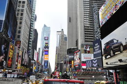 Time Square 19-04-13. , Franciscus S - April 2013