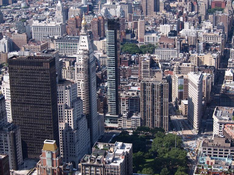 udsigt fra Emoire State Building - New York City