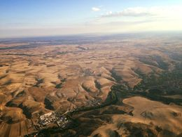 View of Segovia from the balloon , JESSICA.DEVERSON - October 2015