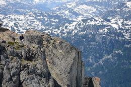 Rock climbing, Jeff - August 2013
