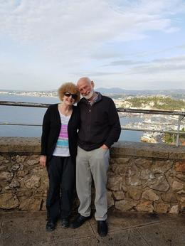 Us with the background of Nice , Roma S - October 2016