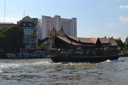 View from the river boat ride back to Bangkok , Julie B - May 2017
