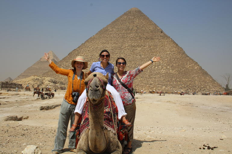 Sightseeing Day Tour to Pyramids, Egyptian Museum and Bazaar from Giza or Cairo photo 37