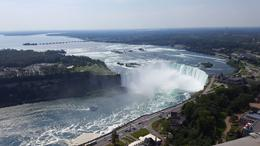 View of the Horseshoe Falls from Skylon Tower , Carol H - August 2017