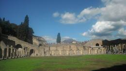 View from Pompeii to Vesuvius. , Maris M - September 2017