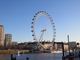 London Eye from the bridge. , Annelore W - December 2017