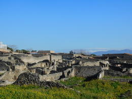 Some of the ruins in Pompeii , Denise L - February 2018