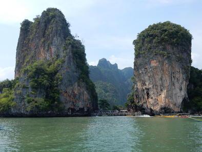 Kanutour zu den Höhlen in der Phang Nga Bucht