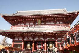 Asakusa Kannon Temple., Nathalie J - January 2009