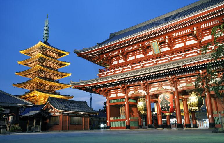 Asakusa Temple - Kyoto