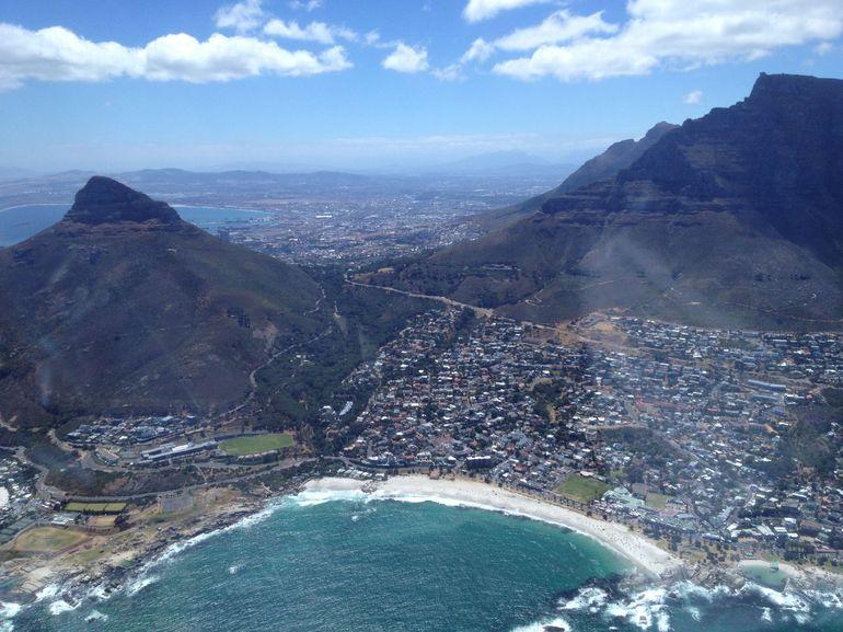 Beach and Mountain - Cape Town