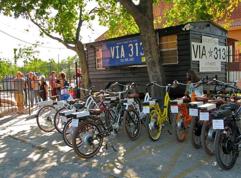 Biking Around Town - Austin