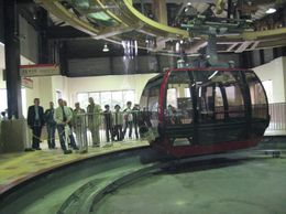 About to ride the cable car. - October 2007