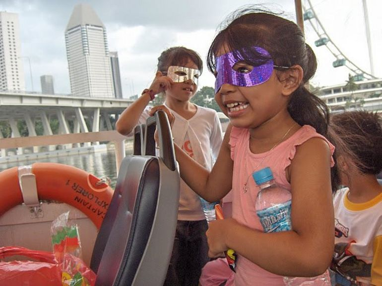 Duck tour - Singapore