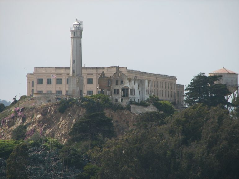 Getting closer to Alcatraz Island - San Francisco