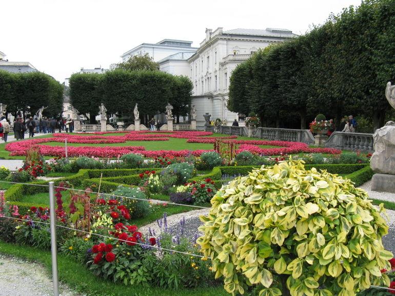 Grounds in Salzburg - Vienna