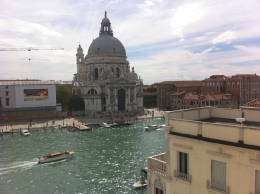 Santa Maria Della Salute from our hotel room, Theodore F - October 2010