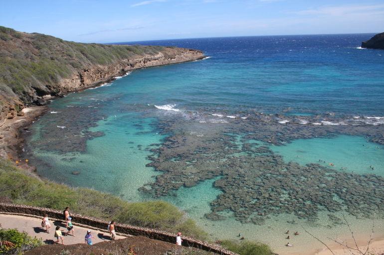 Left side of Hanauma Bay - Oahu