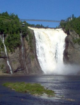 Montmorency Falls, Mercedes H - July 2008